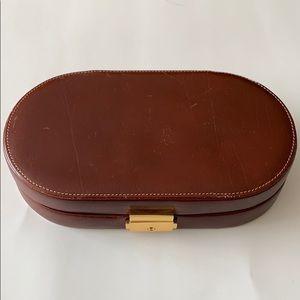 Vintage Danier Jewelry Case/Travel Clutch